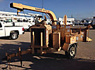 2001 Performance First Brush Bandit 250XP Chipper (12 Disc), trailer mtd