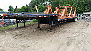 2001 Trail King T/A Drop-Deck Equipment Trailer