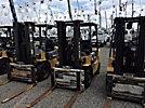 2002 Caterpillar DP25KD Pneumatic Tired Forklift