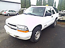 2002 Chevrolet Blazer 4x4 2-Door Sport Utility Vehicle