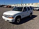 2002 Chevrolet Blazer LS 4x4 4-Door Sport Utility Vehicle
