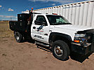 2002 Chevrolet K3500HD 4x4 Flatbed Truck