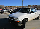 2002 Chevrolet S10 4x4 Extended-Cab Pickup Truck