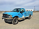 2002 Ford F250 4x4 Enclosed Service Truck