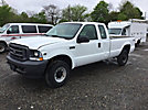 2002 Ford F250 4x4 Extended-Cab Pickup Truck