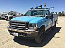 2002 Ford F350 4x4 Service Truck