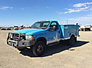 2002 Ford F450 4x4 Enclosed Service Truck