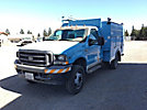 2002 Ford F450 Enclosed Service Truck