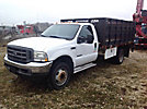 2002 Ford F450 Flatbed Truck
