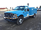2002 Ford F450 Welder/Service Truck, Miller bobcat 120/240v welder/generator, s/n LC021075