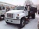 2002 GMC C7500 Flatbed Truck