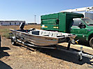2002 Hulls, Inc./Valco Westcoaster 16 ft. aluminum boat, s/n HUL01263J102, with 2001 Nissan Marine four stroke 25hp outboard motor and 2001 Carnai Tuffy S/A galvanized trailer, license plate# 4AN6587