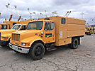 2002 International 4700 Chipper Dump Truck