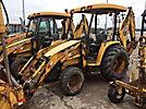 2002 John Deere 110 4x4 Mini Tractor Loader Backhoe