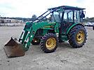 2002 John Deere Utility Tractor, model 5520 4x4