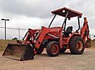 2002 Kubota L35 4x4 Mini Tractor Loader Backhoe