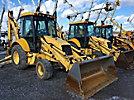 2002 New Holland LB75B 4x4 Tractor Loader Extendahoe