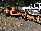 2002 T/A Pole/Material Trailer