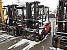 2002 Toyota 7FGU30 5,400# Pneumatic Tired Forklift