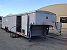 2002 Wells Cargo 40' T/A Enclosed Gooseneck Tagalong Trailer