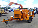 2002 Wood Chuck Hyroller 1200 Chipper (12 Disc), trailer mtd