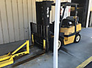2002 Yale GLP080LJNGBE089 Solid Tired Forklift