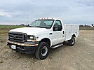 2003 Ford F350 4x4 Enclosed Service Truck