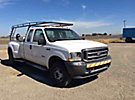 2003 Ford F350 4x4 Extended-Cab Dual Wheel Pickup Truck