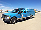 2003 Ford F350 Extended-Cab Enclosed Service Truck