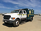 2003 Ford F650 Crew Cab Chipper Dump Truck