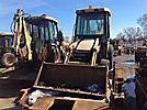 2003 John Deere 110 4x4 Tractor Loader Backhoe