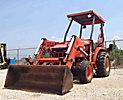 2003 Kubota L35 4x4 Mini Tractor Loader Backhoe