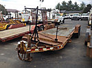 2003 Towmaster 8-Ton T/A Tagalong Trailer, with 20' level tilt deck over wheels & beavertail, (cracked frame)