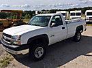 2004 Chevrolet K2500HD 4x4 Pickup Truck