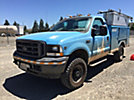 2004 Ford F350 4x4 Enclosed Service Truck