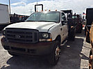 2004 Ford F450 4x4 Flatbed Truck