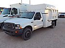 2004 Ford F550 4x4 Chipper Dump Truck