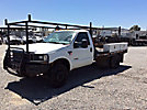 2004 Ford F550 4x4 Flatbed Truck
