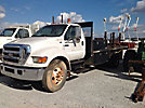 2004 Ford F650 Flatbed Truck