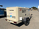2004 Ingersoll Rand XP375 Air Compressor, trailer mtd,