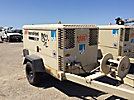 2004 Ingersoll Rand XP375 Air Compressor, trailer mtd