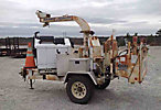 2004 Performance First Brush Bandit 200+ XP Chipper (12 Disc), trailer mtd