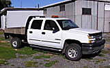 2005 Chevrolet K2500 4x4 Crew-Cab Flatbed Truck