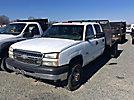 2005 Chevrolet K3500 4x4 Crew-Cab Flatbed Truck