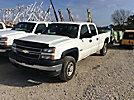 2005 Chevrolet K3500 4x4 Crew-Cab Pickup Truck