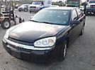 2005 Chevrolet Malibu LS 4-Door Sedan