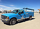 2005 Ford F250 Enclosed Service Truck