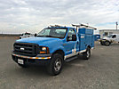 2005 Ford F350 4x4 Enclosed Service Truck