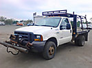 2005 Ford F350 4x4 Flatbed Truck