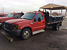 2005 Ford F350 Flatbed Truck